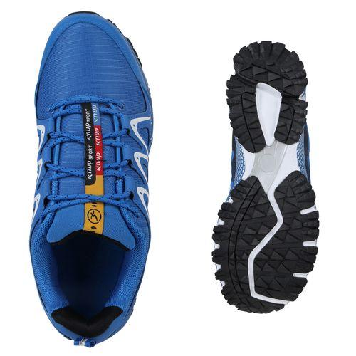 Herren Sportschuhe Laufschuhe - Blau Weiß Schwarz