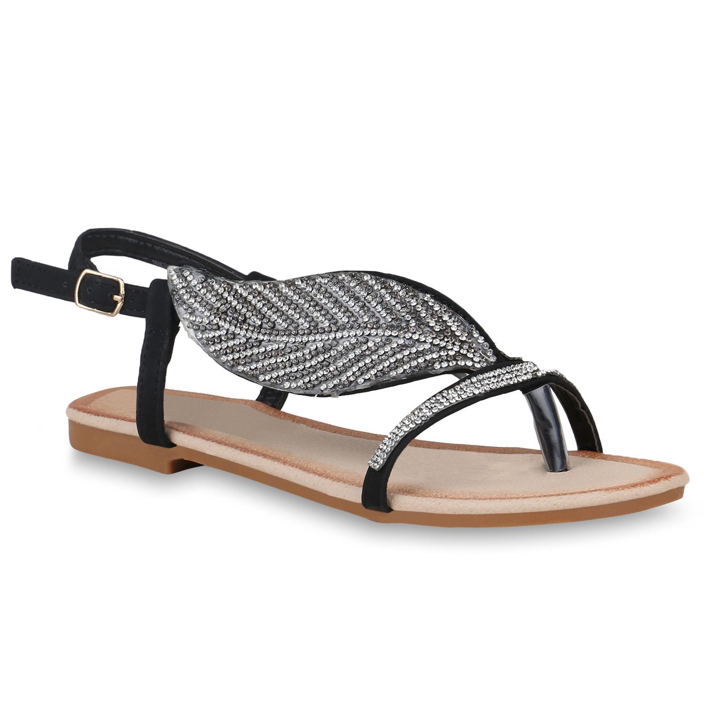 damen sandalen in schwarz 822320 3401. Black Bedroom Furniture Sets. Home Design Ideas