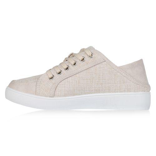 Low Creme Damen Sneaker Sneaker Creme Damen Low 5qrUwxSq8