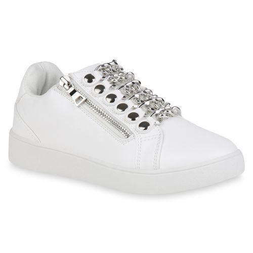 Low Sneaker Damen Sneaker Weiß Damen Damen Low Weiß Low Weiß Sneaker gqCwBxS