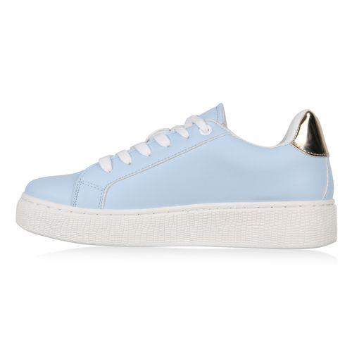 Hellblau Hellblau Damen Damen Sneaker Sneaker Hellblau Damen Plateau Plateau Damen Plateau Sneaker t1tpqRUx