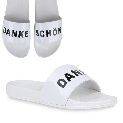 Damen Sandalen Damen Sandalen Pantoletten Sandalen Damen Weiß Weiß Pantoletten HPr4Hwnq