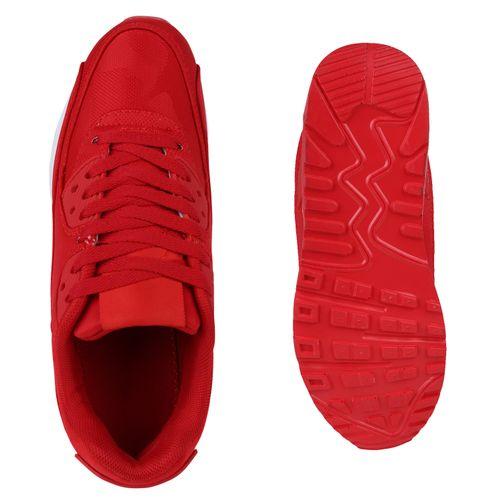 Damen Sportschuhe Laufschuhe - Rot Camouflage