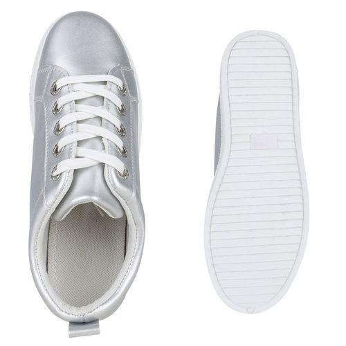 Plateau Damen Sneaker Plateau Damen Plateau Silber Sneaker Silber Sneaker Damen npqUw1qP4