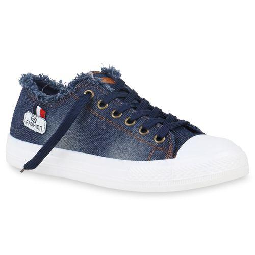 Low Dunkelblau Sneaker Low Sneaker Dunkelblau Damen Damen Sneaker Damen q8waxA0Ow