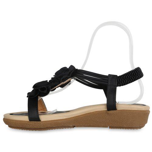 Schwarz Sandaletten Sandaletten Sandaletten Keilsandaletten Damen Schwarz Keilsandaletten Damen Damen Keilsandaletten zwEOq565