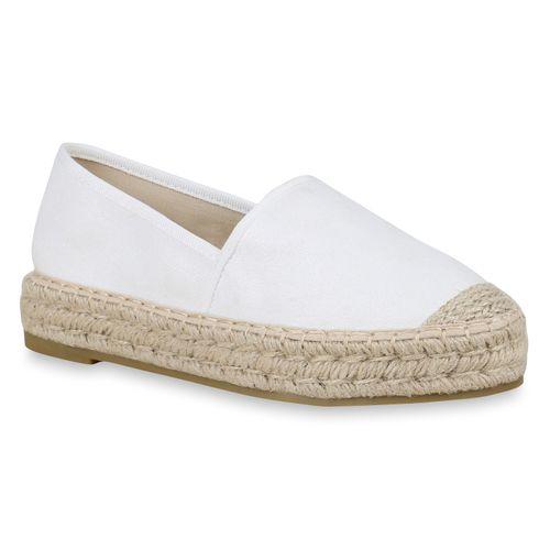 Weiß Slippers Weiß Slippers Slippers Weiß Slippers Espadrilles Damen Damen Damen Espadrilles Damen Espadrilles 75wXxqp4S