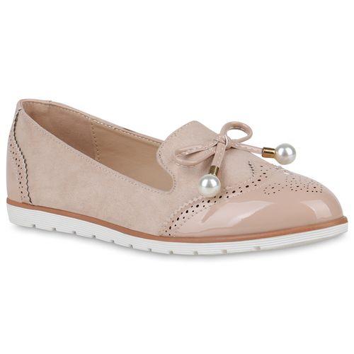 Slippers Damen Creme Loafers Slippers Damen arwErv
