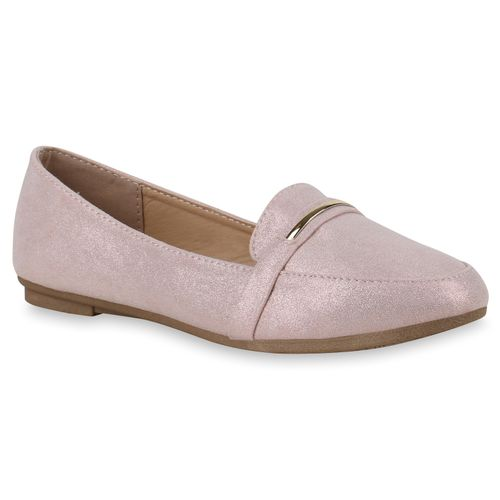 Damen Slippers Loafers Loafers Rosa Damen Rosa Damen Slippers WOWrgaP