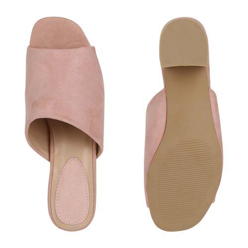 Rosa Sandaletten Pantoletten Damen Damen Sandaletten Pantoletten Rosa Damen Sandaletten Rosa Damen Pantoletten w7I5ZxS