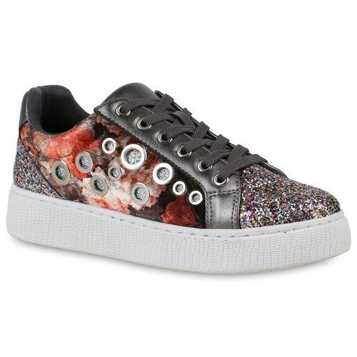 e0838e790df9b9 Damen Sneaker in Grau Metallic (822913-4769) - stiefelparadies.de
