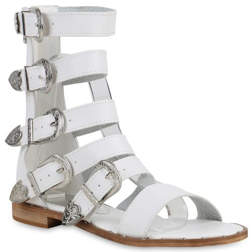 Damen Sandalen in Weiß (822953-686) - stiefelparadies.de 8fcc1a2c68