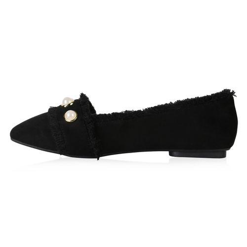 Damen Klassische Slippers - Schwarz