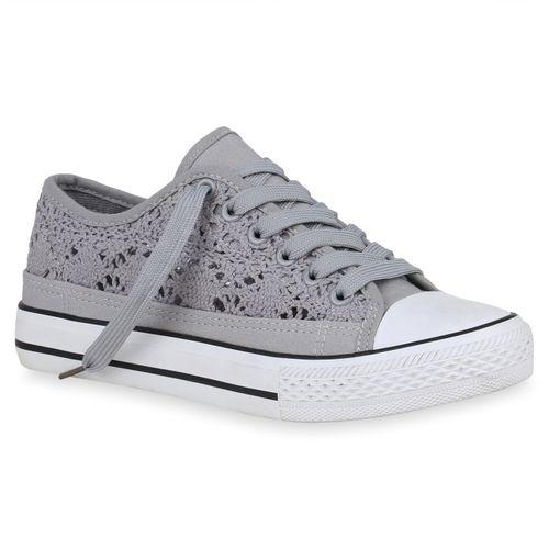 Sneaker Damen Damen Sneaker Low Low Sneaker Damen Low Grau Grau Damen Grau xfq8Y