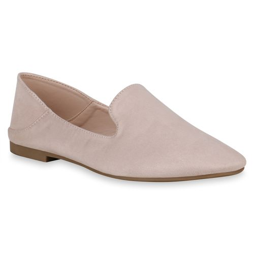Damen Creme Slippers Damen Loafers Loafers Slippers Damen Creme Slippers OqqTw
