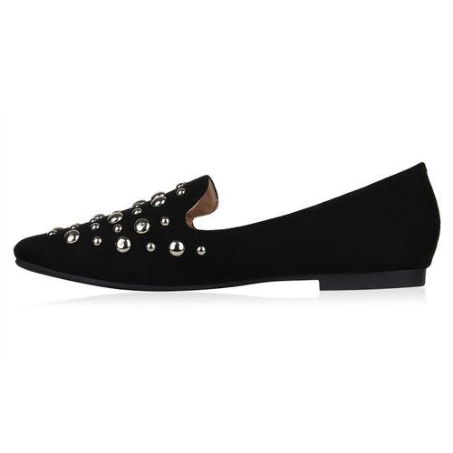 Loafers Slippers Damen Schwarz Loafers Damen Damen Slippers Schwarz qSHn1twZ