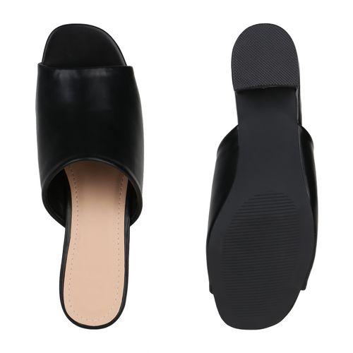 Sandaletten Pantoletten Damen Damen Pantoletten Damen Damen Schwarz Pantoletten Schwarz Schwarz Sandaletten Sandaletten HRdqwTT