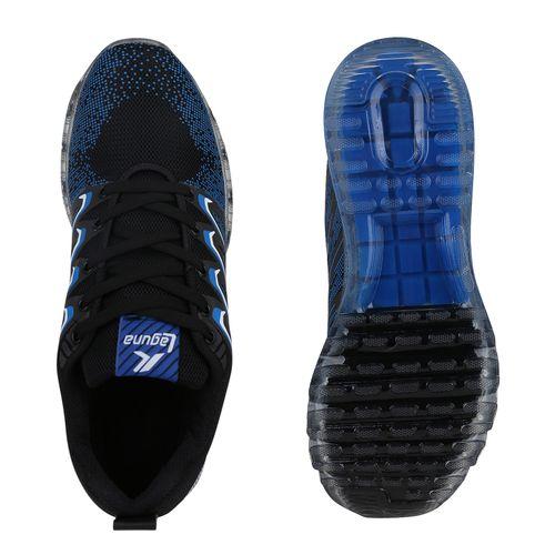 Herren Sportschuhe Laufschuhe - Schwarz Blau Weiß