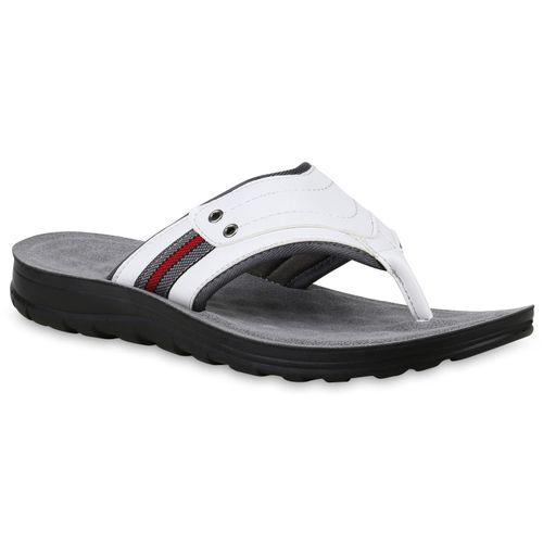 Herren Sandalen Herren Herren Weiß Sandalen Zehentrenner Zehentrenner Weiß Sandalen Weiß Zehentrenner 354LqARj
