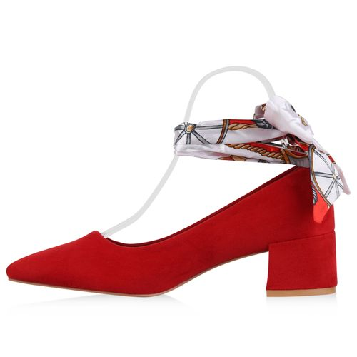Billig Damen Schuhe Damen Pumps in Rot 823583523