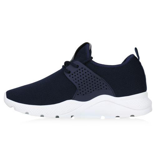 Billig Damen Schuhe Damen Sportschuhe in Dunkelblau 823697512