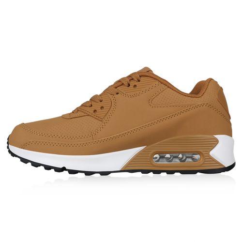Billig Damen Schuhe Damen Sportschuhe in Hellbraun 893689151