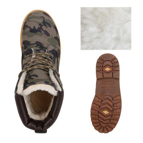 Herren Worker Boots Camouflage Worker Herren rnrx4qO