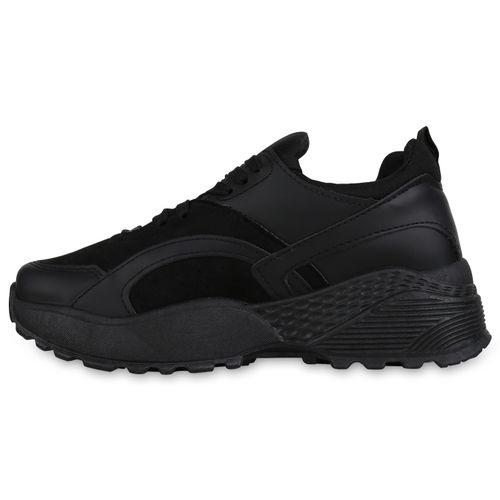 Billig Damen Schuhe Damen Sneaker in Schwarz 8976803401