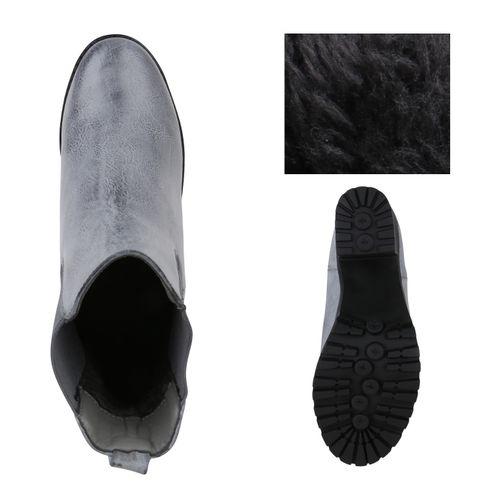 Damen Chelsea Damen Stiefeletten Stiefeletten Boots Boots Damen Chelsea Grau Stiefeletten Stiefeletten Grau Boots Damen Chelsea Grau rrRAawq