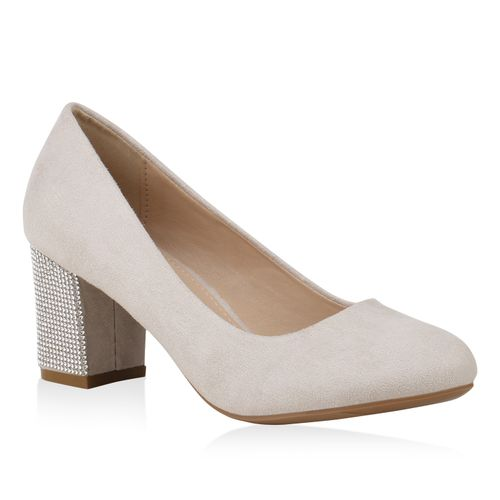 83d8277b589ad6 Damen Pumps in Creme (824031-493) - stiefelparadies.de