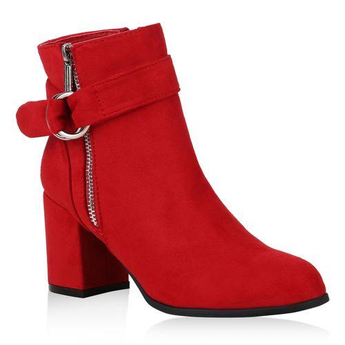 Rot Rot Stiefeletten Klassische Stiefeletten Damen Stiefeletten Damen Klassische Stiefeletten Klassische Damen Rot Damen Klassische Rot TAExUqxw
