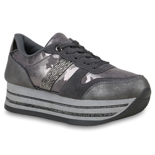 3d395e36716752 Damen Sneaker in Grau (824039-514) - stiefelparadies.de