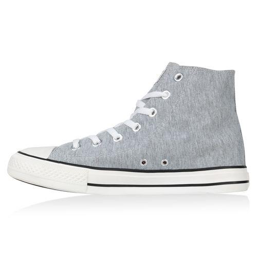 Herren Sneaker high - Hellgrau