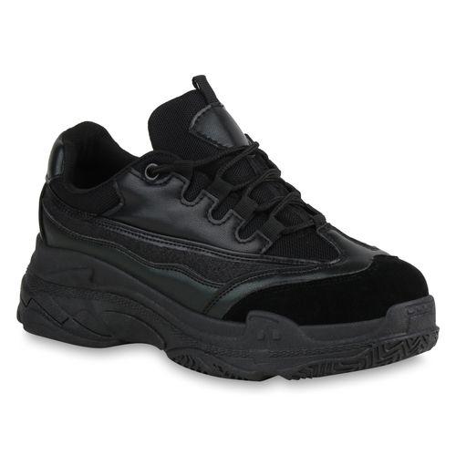 Damen Plateau Damen Plateau Schwarz Schwarz Sneaker Damen Plateau Sneaker Sneaker 4wgqTAw