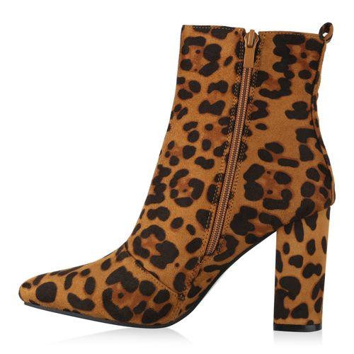 Damen Klassische Stiefeletten - Leopard
