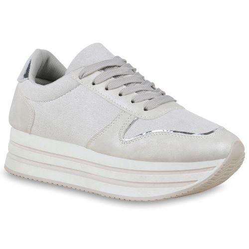 Sneaker Damen Plateau Hellgrau Damen Sneaker Plateau Plateau Hellgrau Damen Hellgrau Sneaker RqSzPwxx