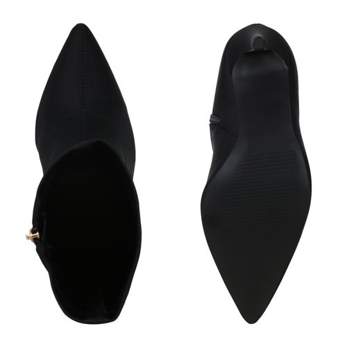 Damen Klassische Stiefeletten - Schwarz