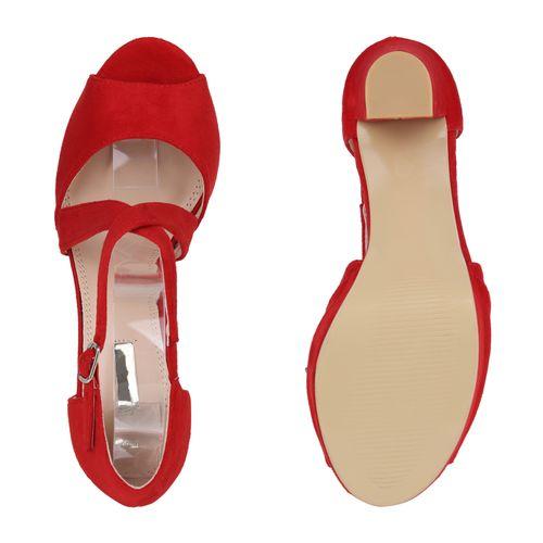 Sandaletten Rot Riemchensandaletten Sandaletten Damen Sandaletten Rot Damen Damen Riemchensandaletten WI4tn