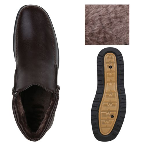 Herren Winter Boots - Dunkelbraun