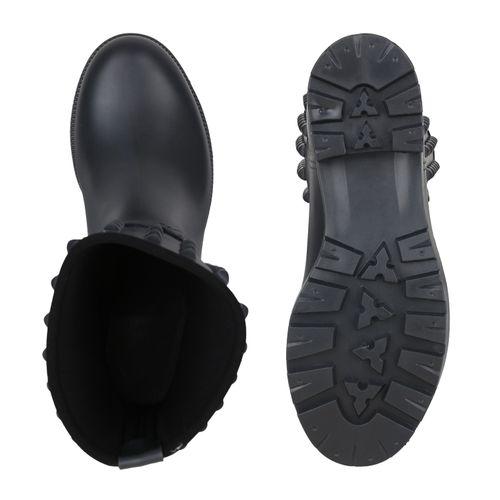 Billig Damen Schuhe Damen Stiefeletten in Dunkelgrau 824696480