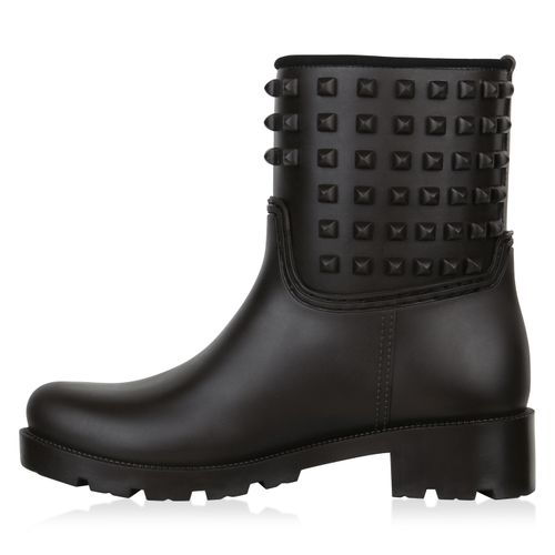 Billig Damen Schuhe Damen Stiefeletten in Dunkelbraun 8246963317