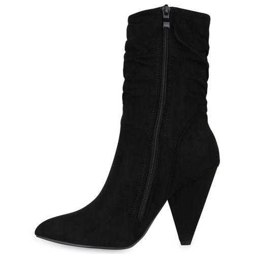 Klassische Damen Schwarz Schwarz Schwarz Damen Stiefeletten Klassische Klassische Stiefeletten Damen Stiefeletten xpY1w0q