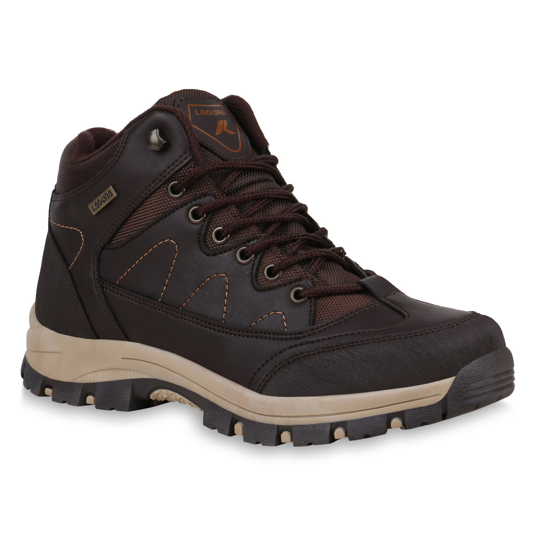 Herren Halbschuhe Outdoor Schuhe - Dunkelbraun