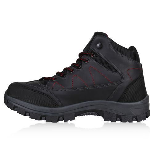 Herren Halbschuhe Outdoor Schuhe - Dunkelgrau