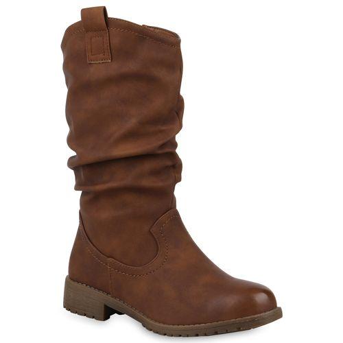 07df6462a5e91d Damen Stiefel in Braun (824820-150) - stiefelparadies.de
