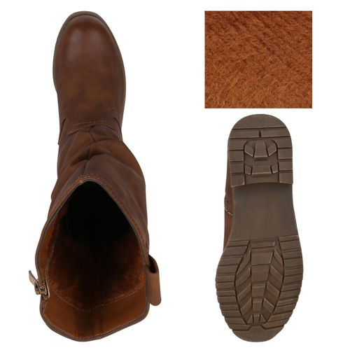 Cowboystiefel Damen Damen Braun Stiefel Stiefel tqw6taBY