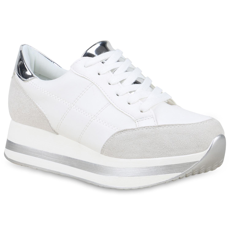 90d1784ee2402a Damen Sneaker in Weiß (824923-686) - stiefelparadies.de