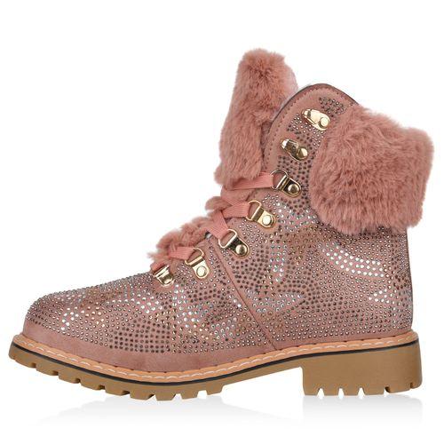 Damen Stiefeletten Outdoor Schuhe - Pink