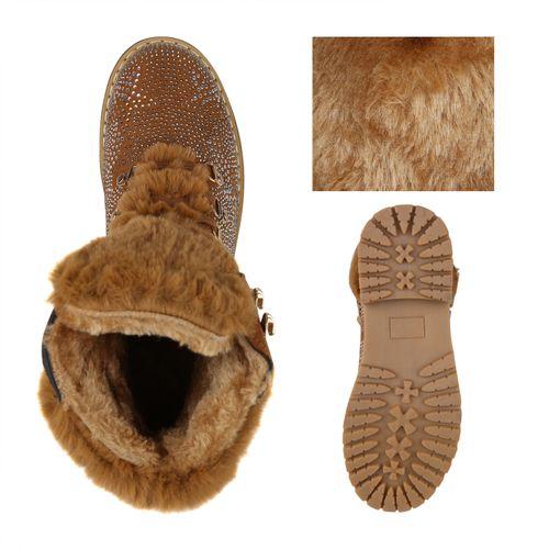 Damen Stiefeletten Outdoor Schuhe - Braun