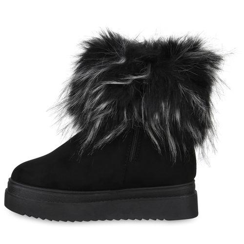 Stiefeletten Damen Damen Stiefeletten Boots Winter Boots Winter Schwarz Schwarz aqnZB